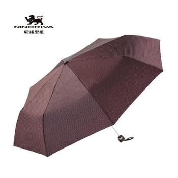 NINO RIVA/尼诺里拉 欧格木柄三折晴雨伞NPY870