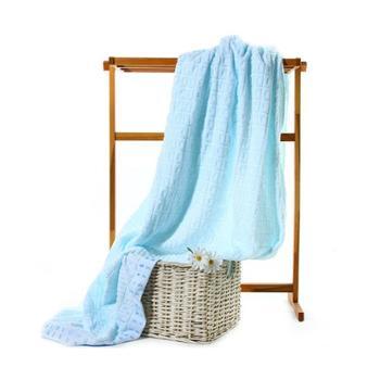 三利素色良品毛巾被两条特惠装50508-2