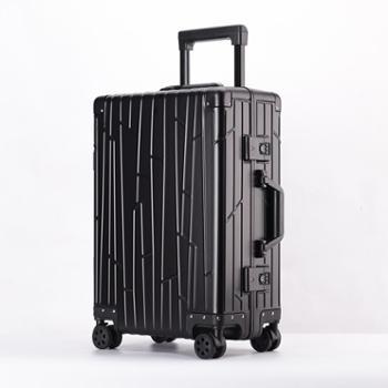 恒源祥(HYX) 24寸铝镁合金格调生活拉杆箱HJYCL809