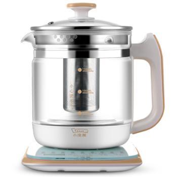 小浣熊 XH-820A 多功能养生壶 全自动分体式电花茶壶 加厚玻璃 煎药壶