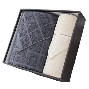 洁丽雅/grace全棉优品6毛巾方巾浴巾组合套装全棉颜色随机