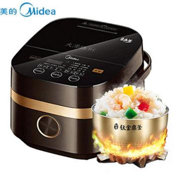 Midea/美的电饭煲4升智能IH电饭锅4L电饭煲3-5人MB-FS4006
