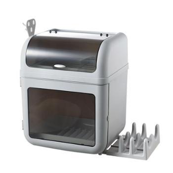 晨之多功能厨房沥水碗架碗筷调料瓶收纳架厨房用品收纳柜子