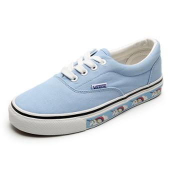 乔驰板鞋女学生韩版小白鞋原宿风百搭潮帆布鞋