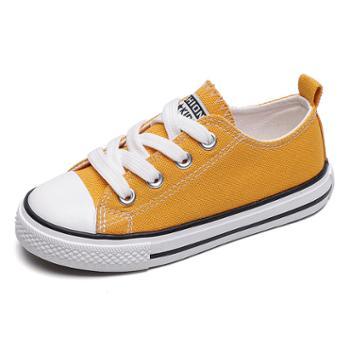 乔驰儿童帆布鞋低帮男童女童鞋子宝宝布鞋