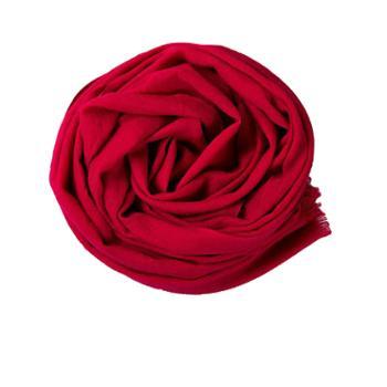 戎立特素色羊毛围巾ES714