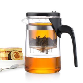 谁美加厚飘逸杯耐热玻璃茶壶花茶叶杯过滤冲泡茶器茶具茶道杯家用sm