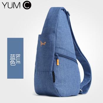 美国YUMCB6019胸包男斜挎背包单肩包挎包牛津布休闲包女士包包帆布包