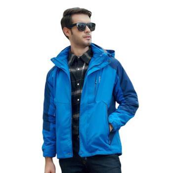 gangsta登山服加大码爆款滑雪服加厚户外冲锋衣QJS1718