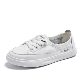 上匠风华 学院风女子小白鞋106-8