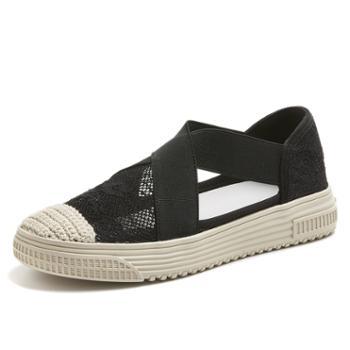 上匠风华 蕾丝美式渔夫鞋X809