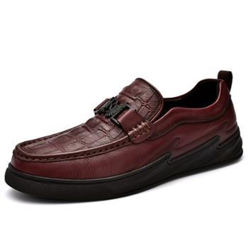 上匠风华 手工头层皮男士单鞋2068