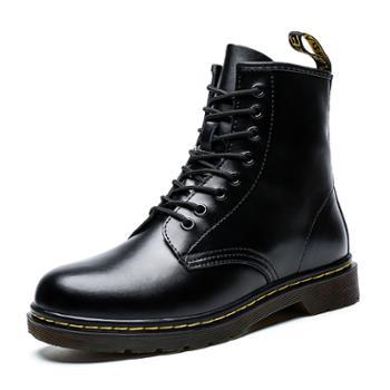 上匠风华秋冬款二层牛皮马丁靴668