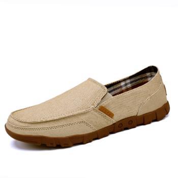 上匠风华水洗做旧男帆布鞋1029