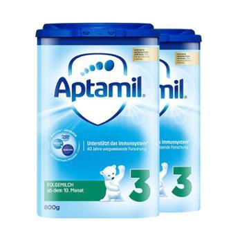 Aptamil【2件装】德国爱他美婴幼儿奶粉3段800克/罐