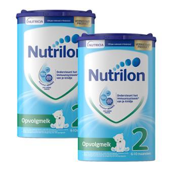 【2件装】荷兰牛栏婴幼儿配方奶粉2段800克/罐
