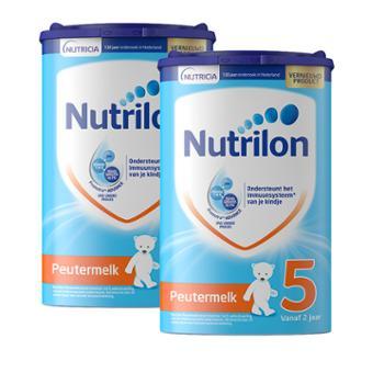 【2件装】荷兰牛栏原装进口婴幼儿配方奶粉5段(适合2岁以上)800克/罐