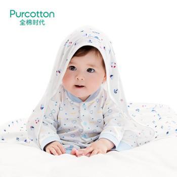 婴儿抱被纯棉纱布新生儿童盖毯被子宝宝用品襁褓包被薄款春夏秋季
