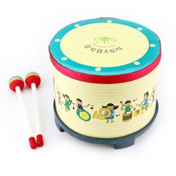 奥尔夫乐器鼓儿童小鼓打鼓玩具鼓打击乐器宝宝鼓婴儿卡通地鼓