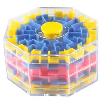 3d立体迷宫玩具走珠儿童益智逻辑思维训练智力魔方迷宫球