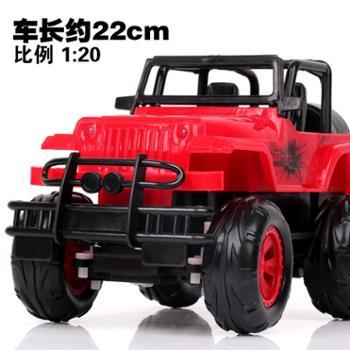 凌盛玩具 遥控车越野车遥控汽车儿童玩具车漂移电动赛车男孩生日礼物