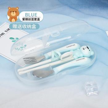 babechee/贝婴奇 儿童筷子训练筷 专用练习筷 宝宝学习筷 婴儿勺子小朋友餐具套装