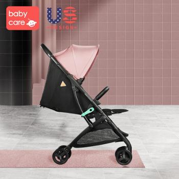 mami care 婴儿车推车可坐可躺便携式折叠儿童轻便推车宝宝