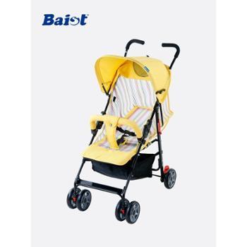 贝思戴 婴儿手推车 全网透气夏季超轻便宝宝可坐可躺儿童伞车