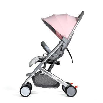 贝秀 婴儿推车高景观超轻便简易折叠便携可坐可躺宝宝小孩推车口袋伞车
