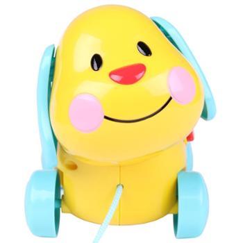 winfun/英纷宝宝拖拉学步拉线玩具婴幼儿音乐声光早教益智多功能学步玩具