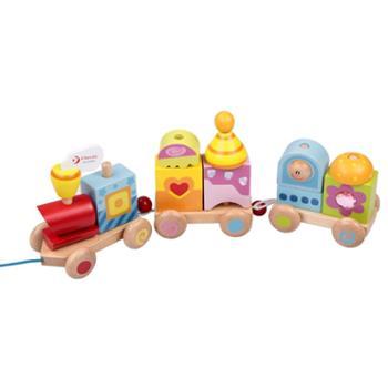 Classic World/可来赛 卡通拉绳拖拉玩具儿童玩具宝宝爬行学步训练