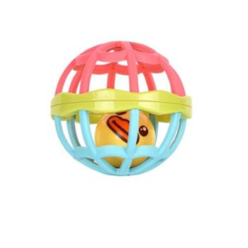 UNI-FUN(母婴) 手抓球软牙胶婴儿玩具触觉感知