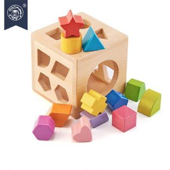 木多乐 婴幼儿益智玩具形状配对