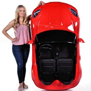 好婴童双人座儿童电动车四轮超大号