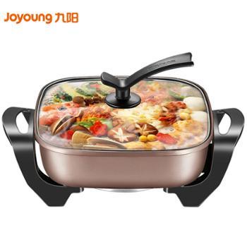 九阳(Joyoung)6L大容量电火锅家用多功能电热锅 麦饭石不粘锅 电煮锅HG60-G91