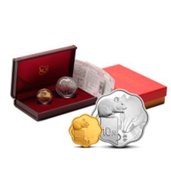 2020(庚子)鼠年梅花金银币