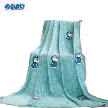 哆啦A梦回眸绒毯-回眸蓝150cm*200cm