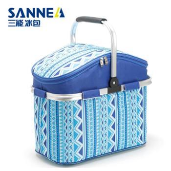 SANNE三能保温包户外野餐折叠篮子