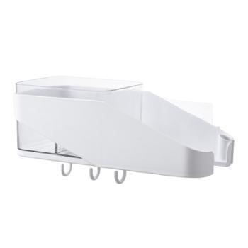【启迈】免打孔吹风机架卫生间浴室壁挂置物架