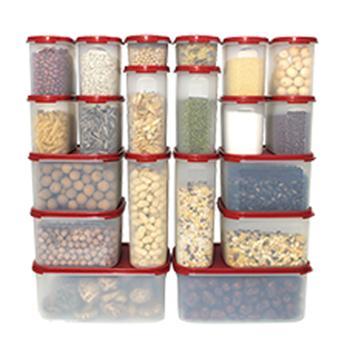 特百惠MM储藏密封保鲜盒套装20件套