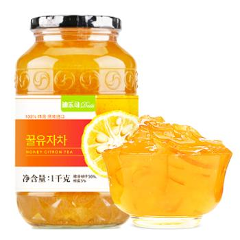 迪乐司Dails韩国进口蜂蜜柚子柠檬百香果水果茶饮料下午茶任选一1kg