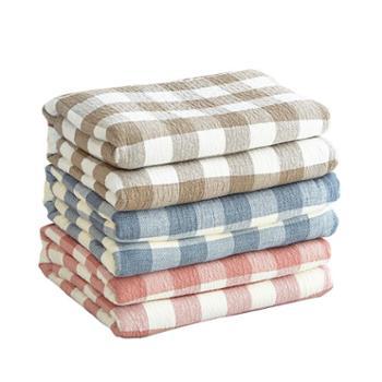 伊伊爱水洗三层纱布毛巾毯四季通用盖被毯子150*200cm