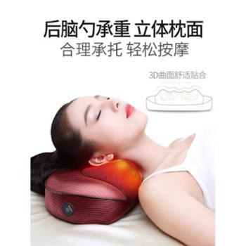 本博肩颈椎按摩器颈部腰部肩部颈肩多功能全身电动仪脖子枕头家用
