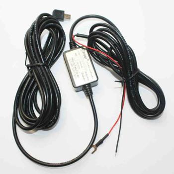 凌度24V/12V转5V降压线行车记录仪电力通通电宝/USBDC接口监控线