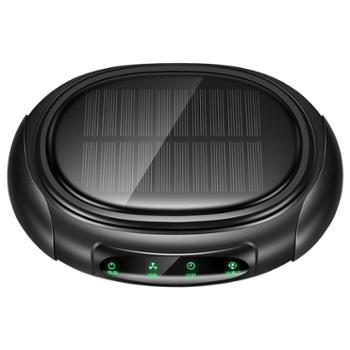 车载空气净化器太阳能充电除甲醛烟雾等离子净化PM2.5