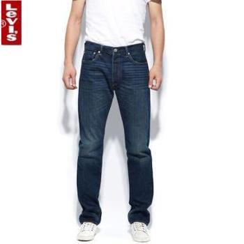 Levi's李维斯男士标准直筒牛仔裤00501-1154