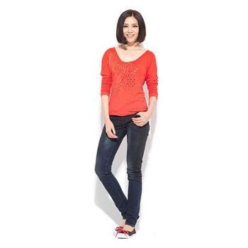 Levis李维斯女装女士长袖T恤31860-0001/31860-0002