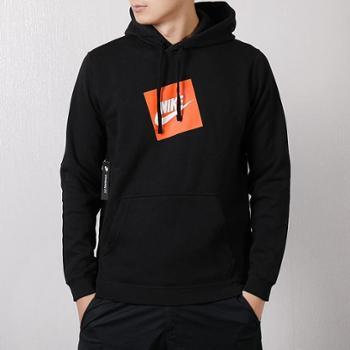 Nike耐克男装新款运动休闲加绒卫衣连帽套头衫928720-010SF