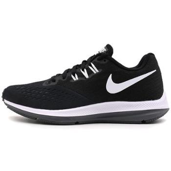 耐克女鞋AirZoomWinflo4新网面透气潮流运动跑步鞋898485-001
