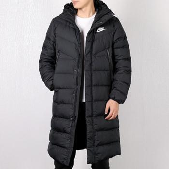 Nike耐克男冬季新款长款保暖轻便羽绒服运动外套AJ7949-010